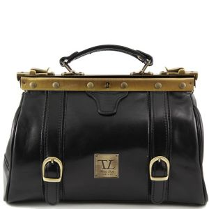 Leather Bag Doctor's Style for Women - Tuscany Leather -