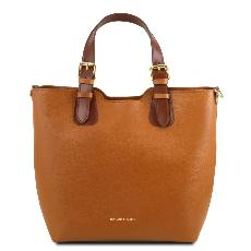 Leather Tote Handbag for Woman - Tuscany Leather -