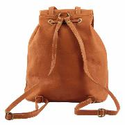 Leather Backpack Small Size for Woman - Tuscany Leather -