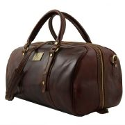 Exclusive Weekender Leather Travel  Bag - Tuscany-Leather - Brown