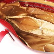 Leather Handbag for Women Red  - Tuscany Leather -