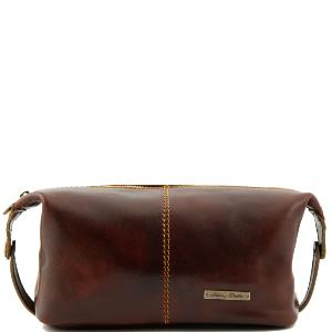 Leather Toilet Bag Roxy - Tuscany Leather -