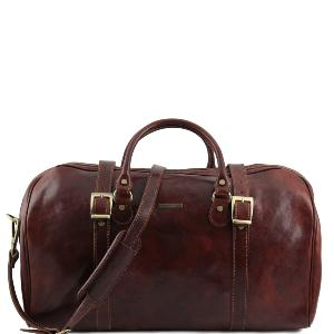 Travel Leather Duffle Bag Berlin -Tuscany Leather-