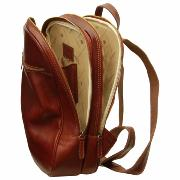Leather Backpack for Laptop Brown-Old Angler-