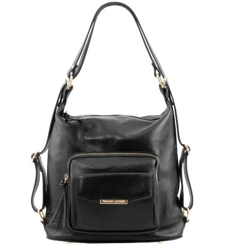 Leather Convertible Bag For Women  -Tuscany Leather -