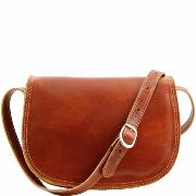 Women's Soft Leather Cross Body Bag - Tuscany Leather -