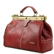 Leather Red Bag for Women - Tuscany Leather -