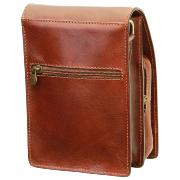 Leather Cross Body Bag with Pockets for Men -Old Angler-