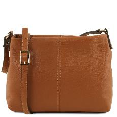Soft Leather Shoulder Bag - Tuscany Leather -