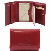 Leather Purse for Women Red - Tuscany Leather -