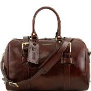 Leather Travel Bag for Women Brown - Tuscany Leather -