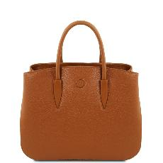 Soft Leather Handbag for Women Honey - Tuscany Leather -