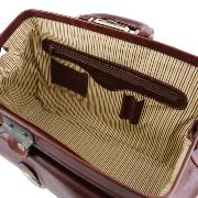 Leather Doctor Bag Brown -Tuscany Leather -