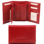 Leather Purse for Women Red -Tuscany Leather-