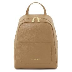 Leather Backpack for Women Light Brown - Tuscany Leather -