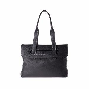 Leather Shoulder Bag for Women 2 Compartments - Dudu Bags