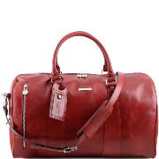 Leather Travel Duffle Bag Tuscany Leather