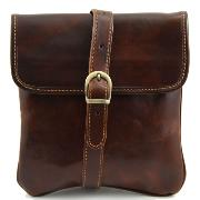 Leather Cross body Bag for Men Joe Brown - Tuscany Leather -