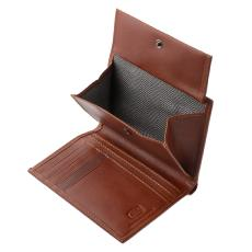 Stylish Leather Wallet for Men Brown - Antica Toscana -