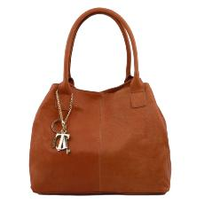 Leather Shoulder bag - Tuscany Leather