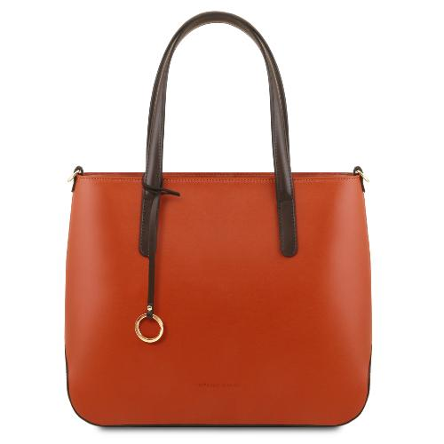 Leather Tote Bag for Women  - Tuscany Leather -