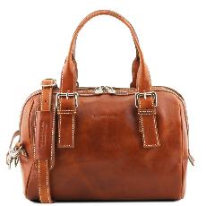 Leather Duffle Bag for Women - Tuscany Leather -