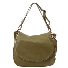 Sac Cuir Bandoulière Besace Femme - Tuscany Leather -